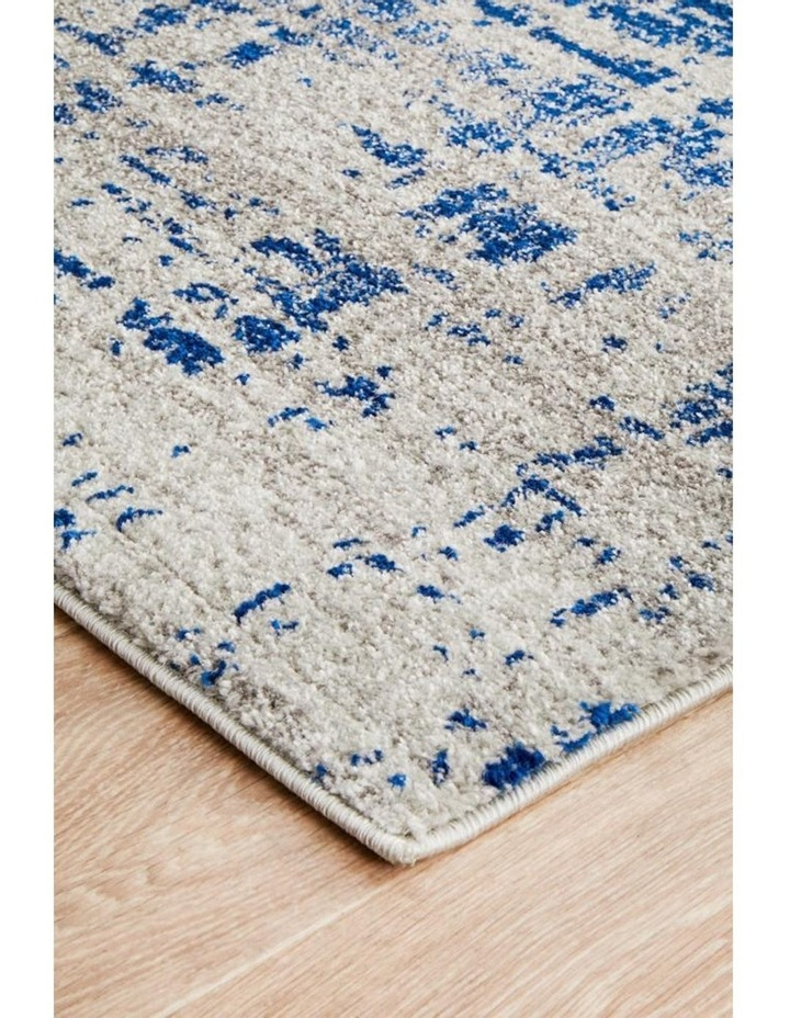 Mirage Ashley Abstract Modern Blue Grey Rug image 4