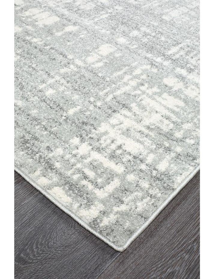 Mirage Ashley Abstract Modern Silver Grey Rug image 3