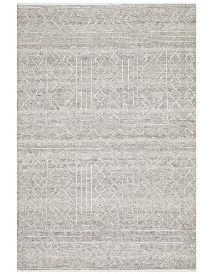Arya Stitch Woven Rug Natural image 1