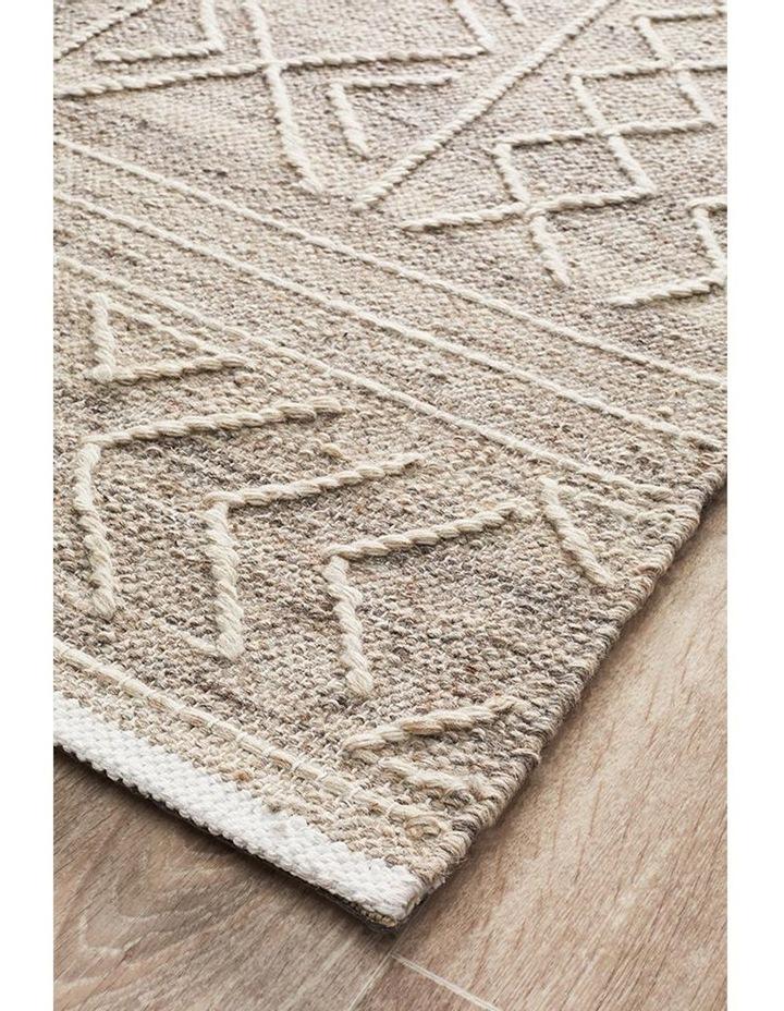 Arya Stitch Woven Rug Natural image 2