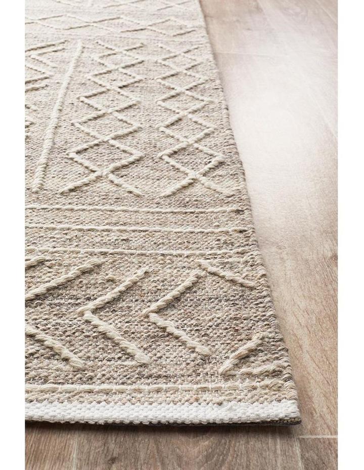 Arya Stitch Woven Rug Natural image 3