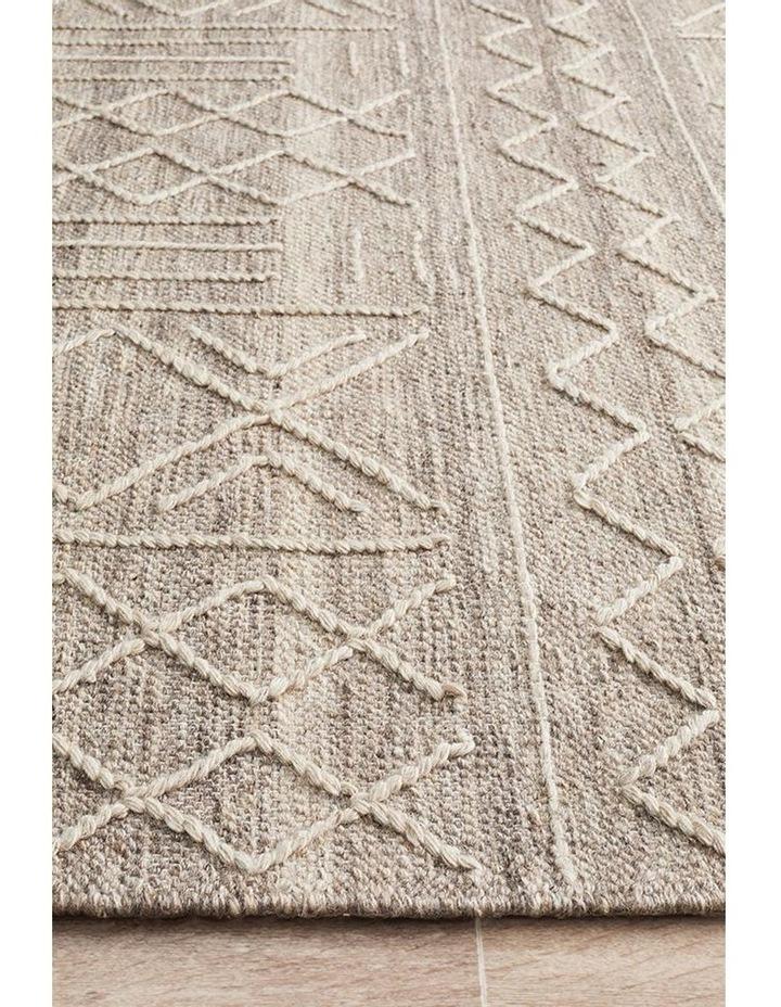 Arya Stitch Woven Rug Natural image 4