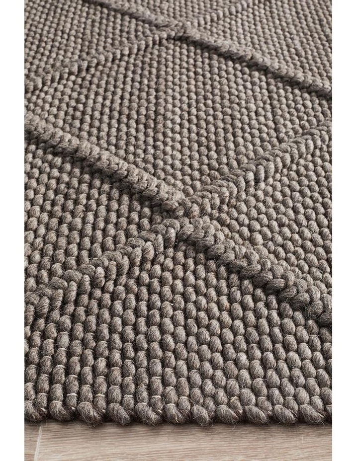 Studio Oberg Wool Diamond Rug Grey Brown image 4