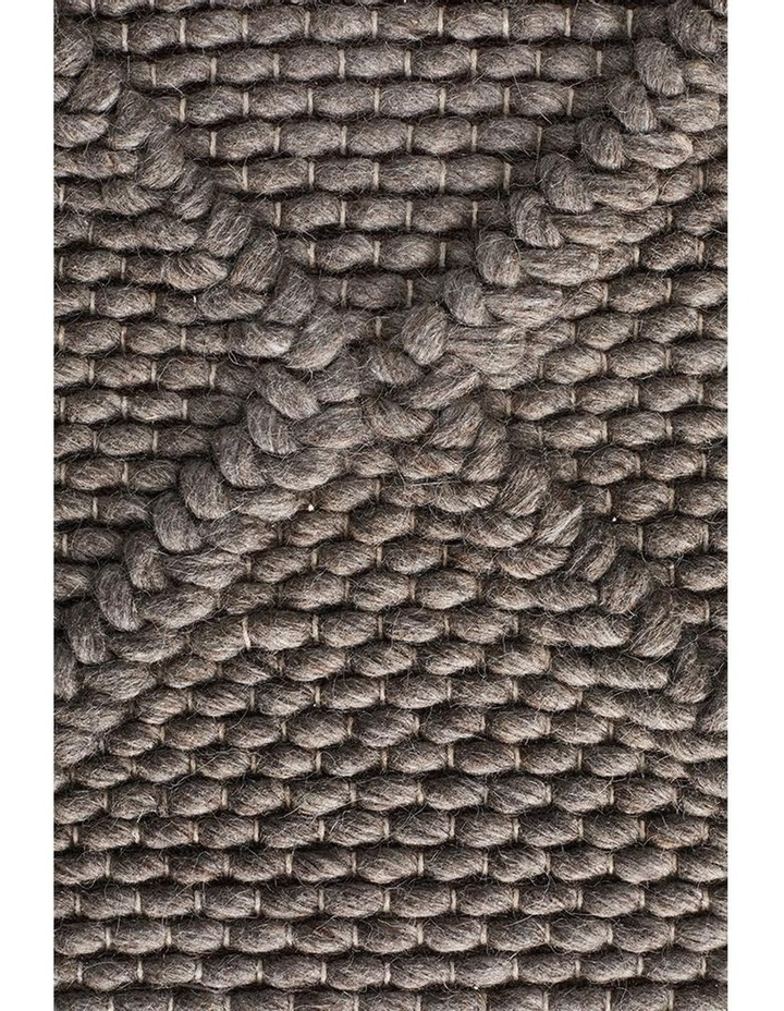 Studio Oberg Wool Diamond Rug Grey Brown image 5