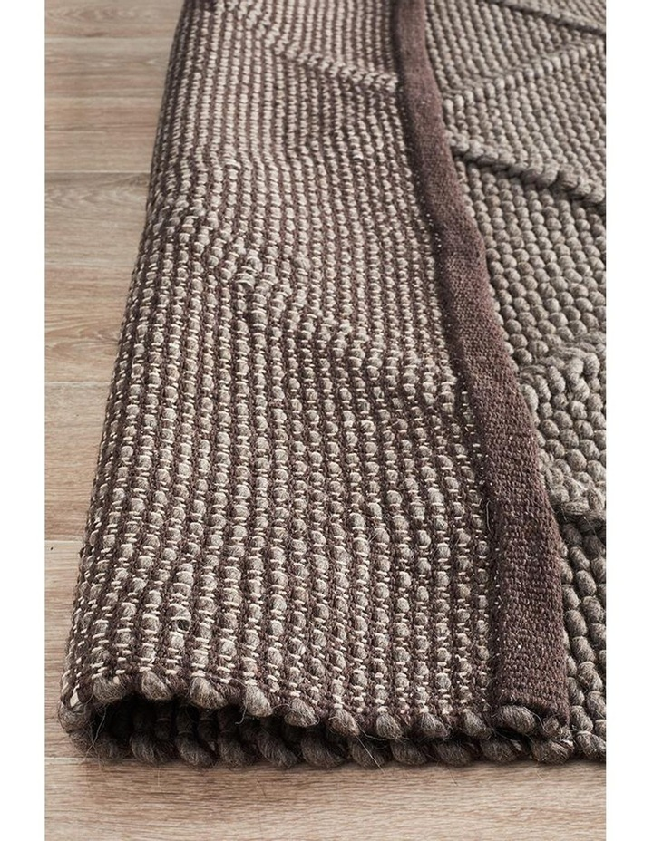 Studio Oberg Wool Diamond Rug Grey Brown image 6