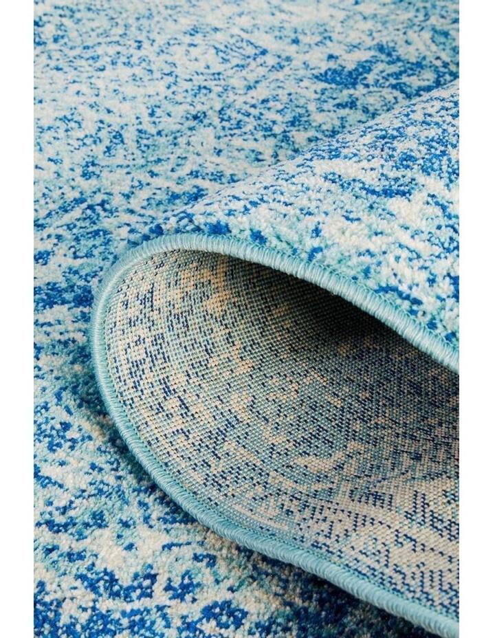 Evoke Muse Blue Transitional Runner Rug image 6