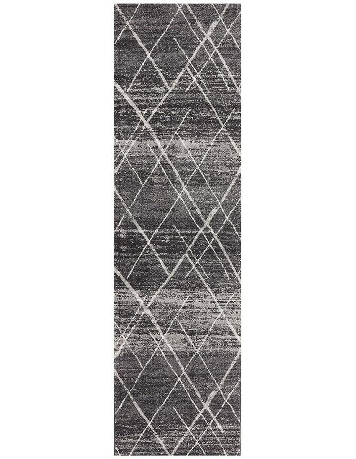 Oasis Noah Charcoal Contemporary Rug image 1