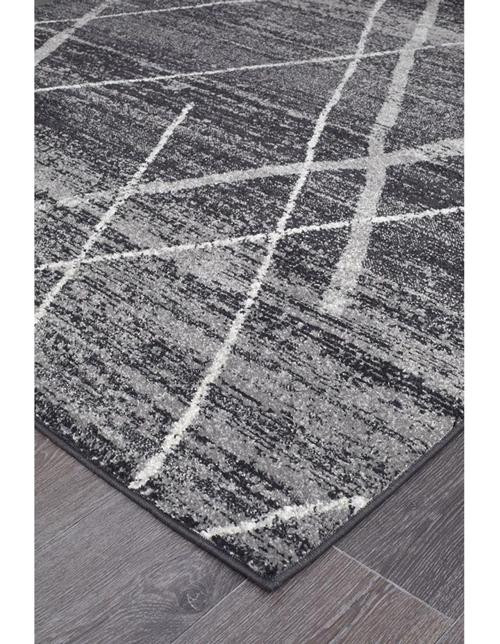 Oasis Noah Charcoal Contemporary Rug image 2