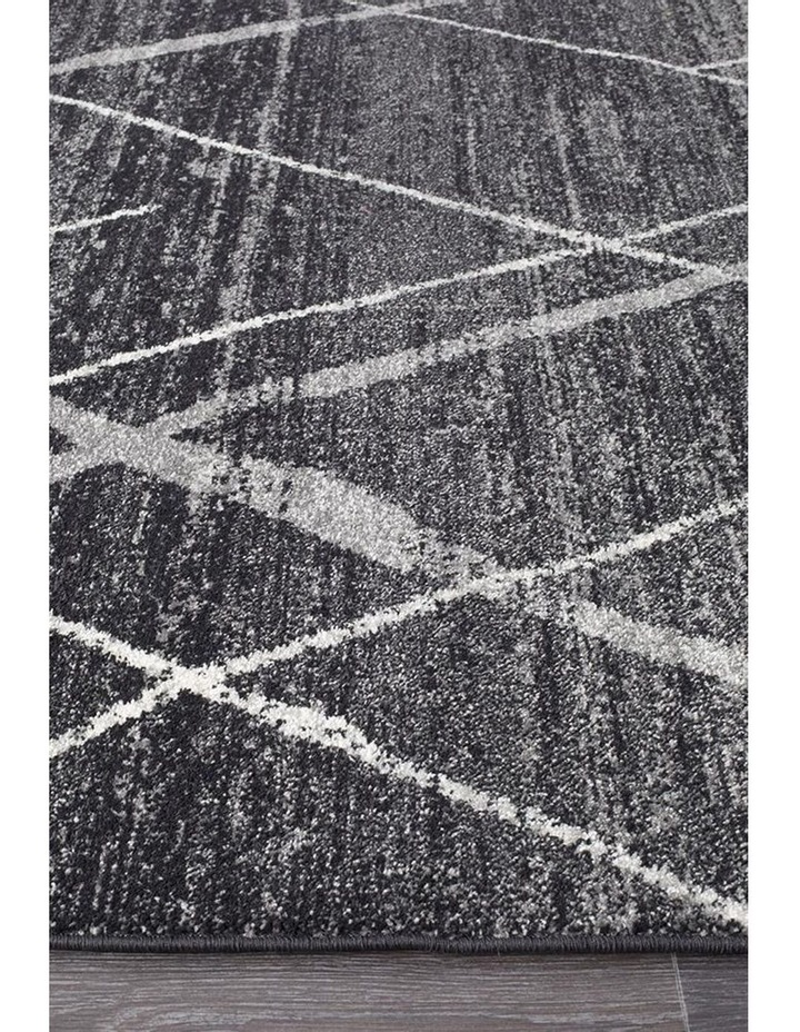 Oasis Noah Charcoal Contemporary Rug image 3