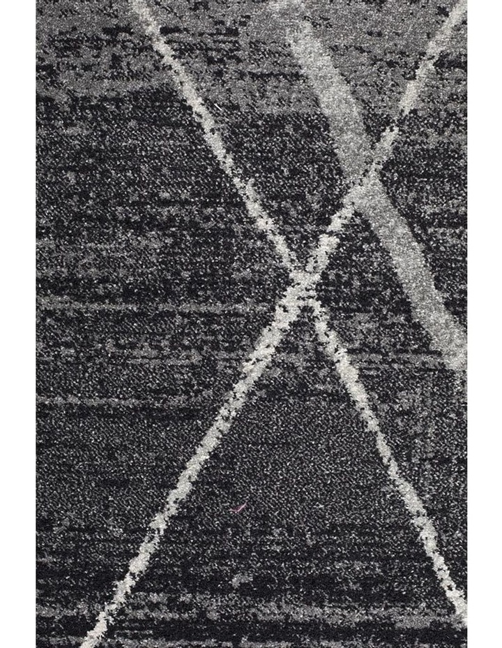 Oasis Noah Charcoal Contemporary Rug image 4