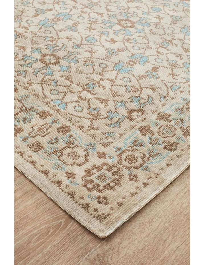 Eternal Whisper Washed Bone Runner Rug image 1