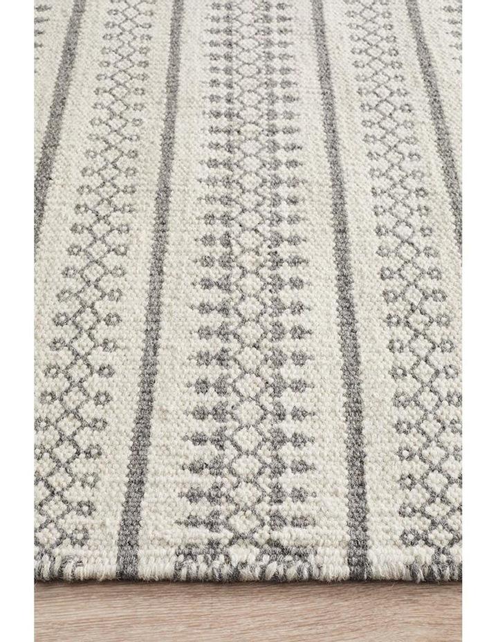 Studio Ester Delicate Lace Woollen Rug Ivory Grey image 2