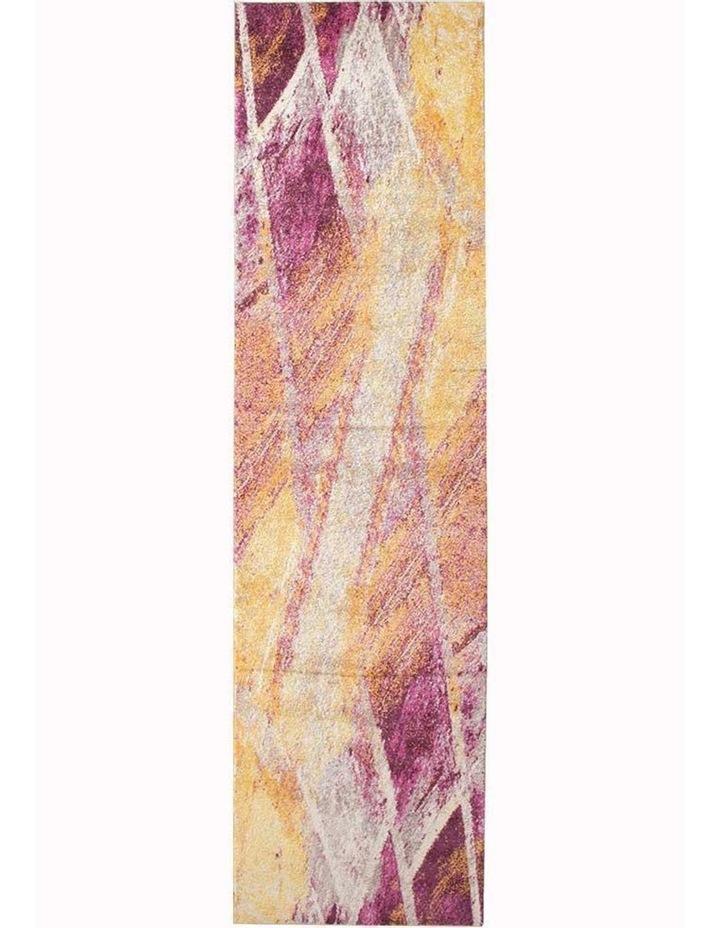 Dimensions Divinity Strokes Violet Modern Runner Rug image 1