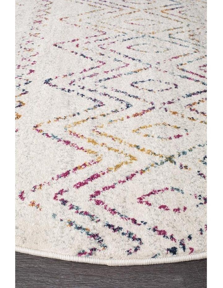 Oasis Nadia Multi Rustic Tribal Round Rug image 2