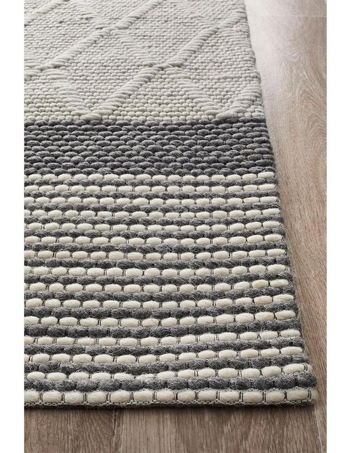Studio Karlsson Wool Hatch Textured Rug image 1