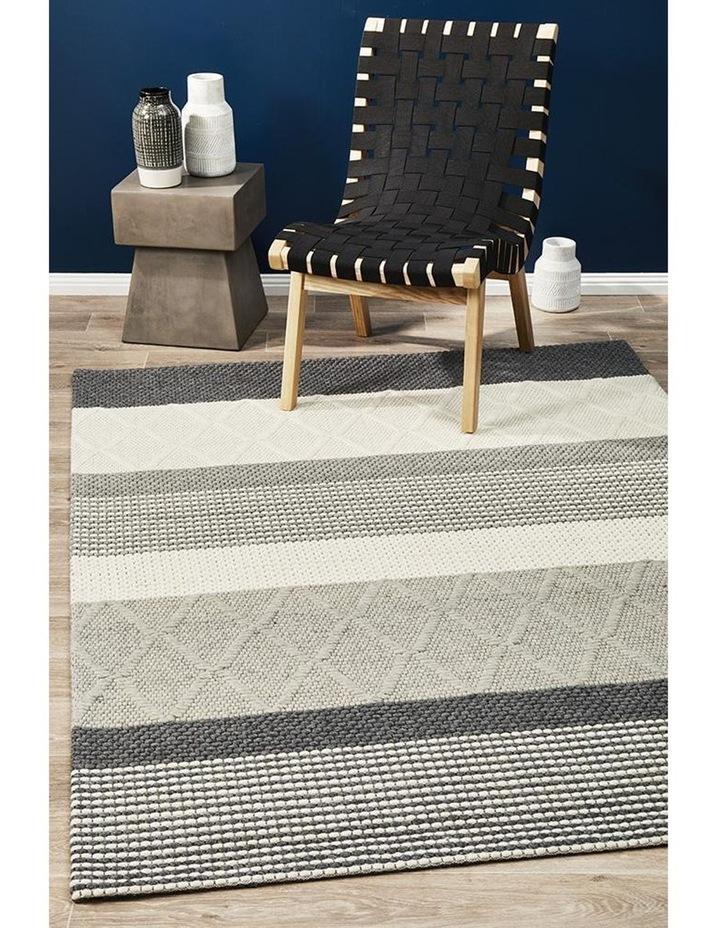 Studio Karlsson Wool Hatch Textured Rug image 4