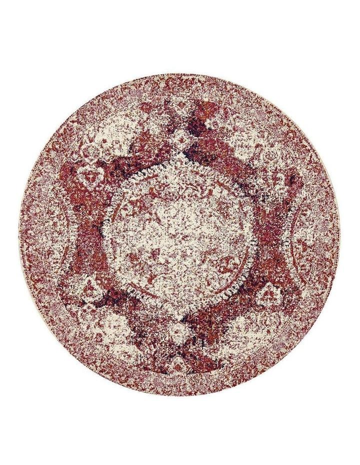 Museum Byron Fuschia Round Rug image 1