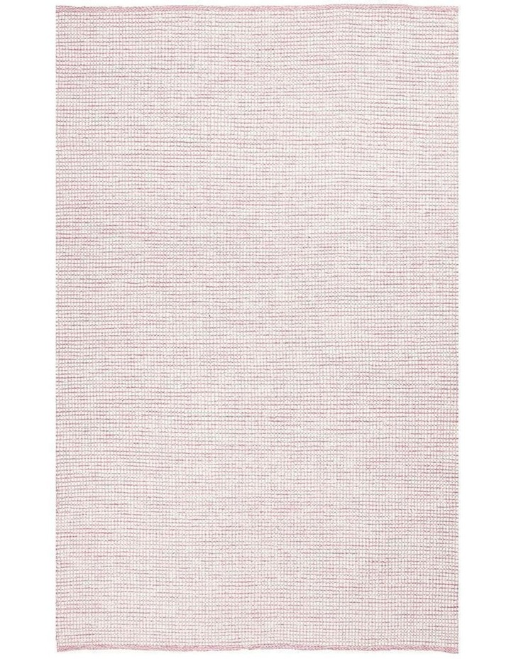 Loft Stunning Wool Pink Rug image 1