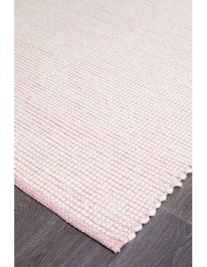 Loft Stunning Wool Pink Rug image 2