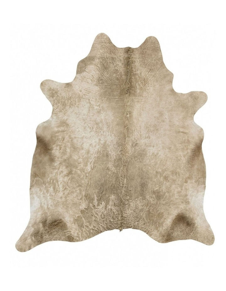 Exquisite Natural Cow Hide Champagne image 1