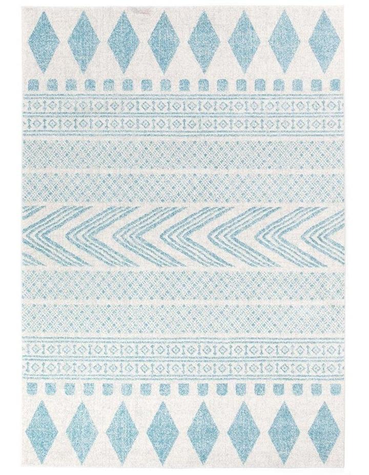 Mirage Adani  Modern Tribal Design sky Blue Rug image 2