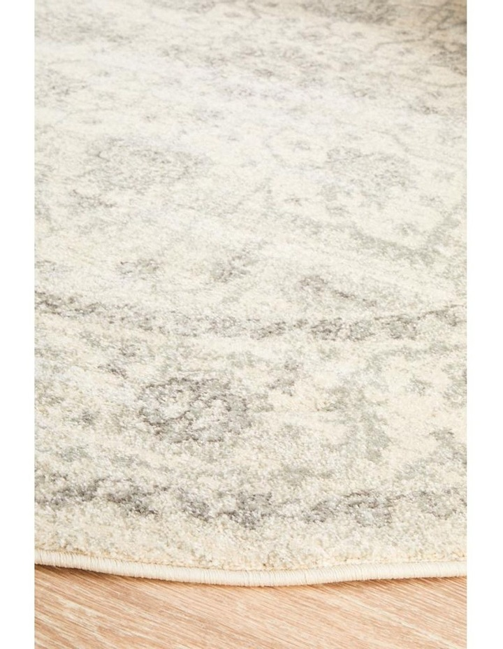 Evoke Winter White Transitional Round Rug image 2