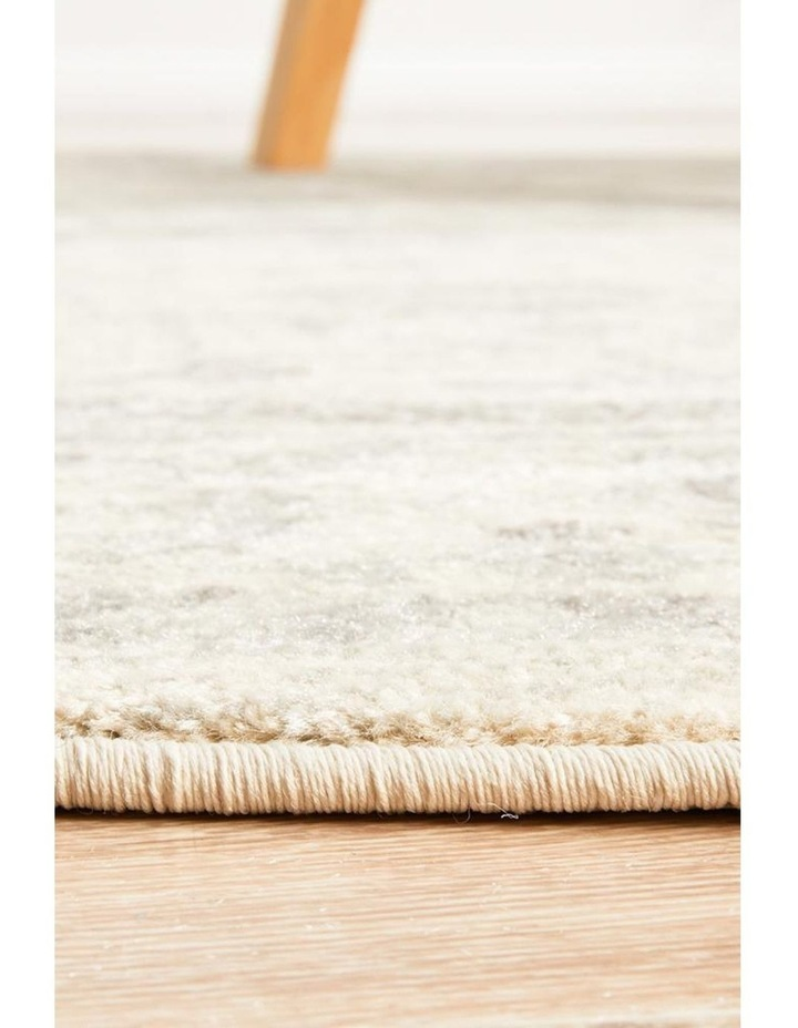 Evoke Winter White Transitional Round Rug image 4