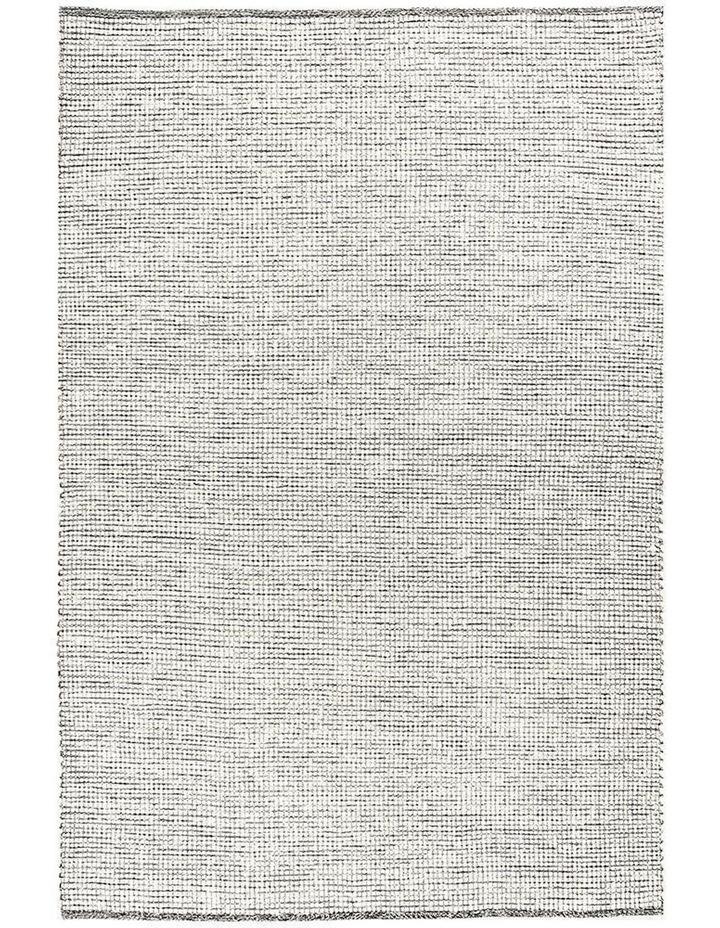 Loft Stunning Wool Black Rug image 1