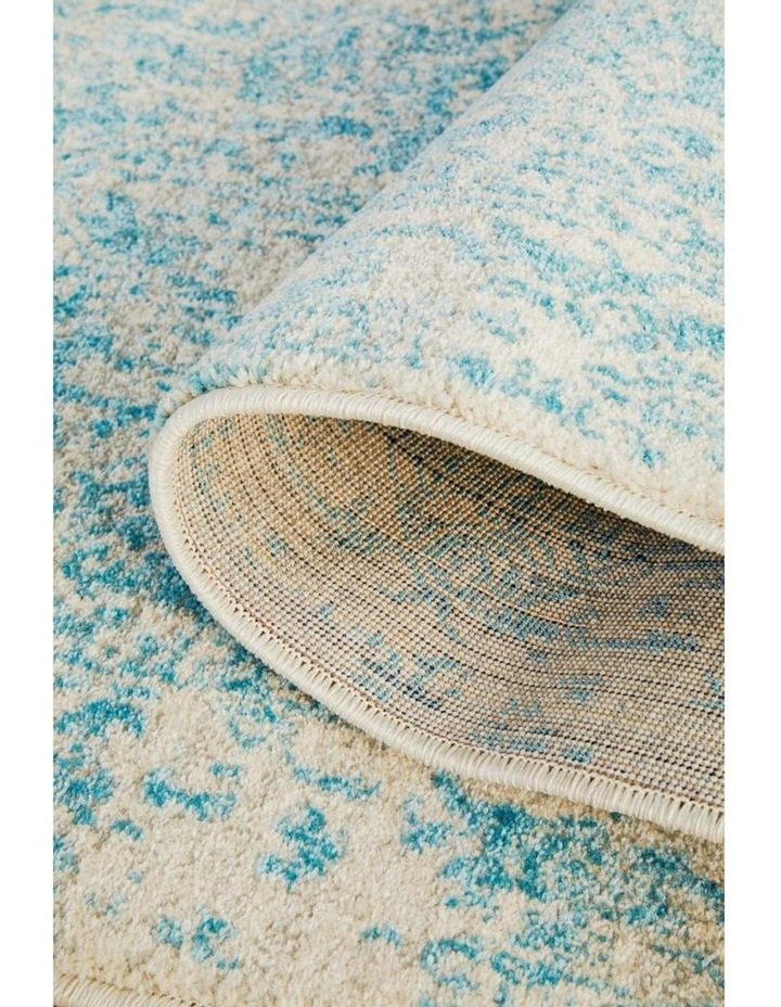 Evoke Glacier White Blue Transitional Rug image 3