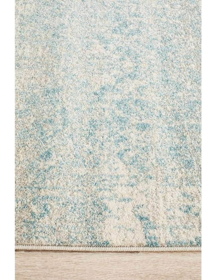 Evoke Glacier White Blue Transitional Rug image 4