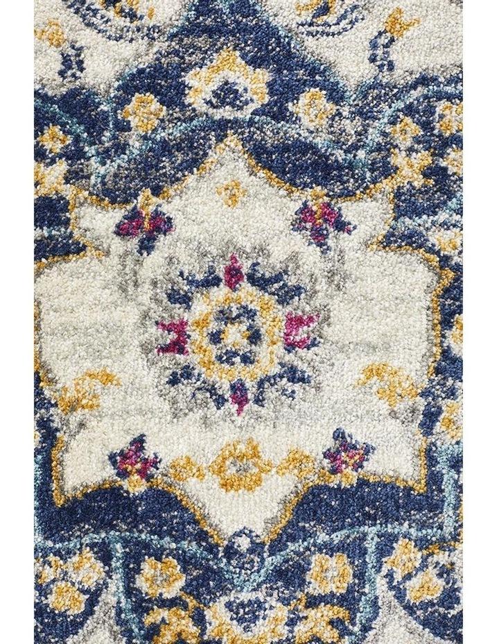 Babylon 201 Blue Runner Rug image 1
