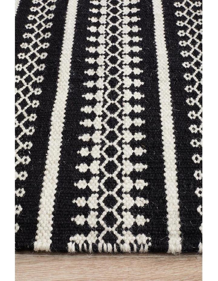 Studio Ester Delicate Lace Woollen Rug Black image 2