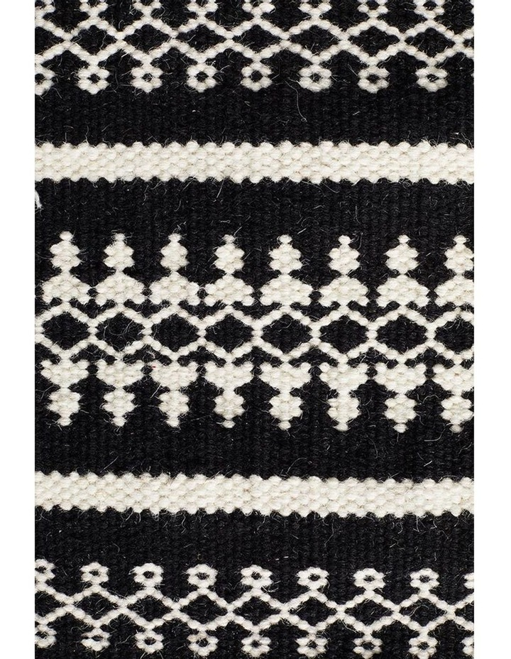 Studio Ester Delicate Lace Woollen Rug Black image 3