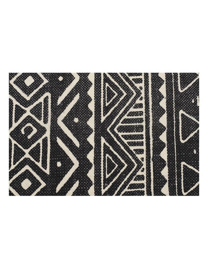 Zulu Totemic Throng Black Rug image 2
