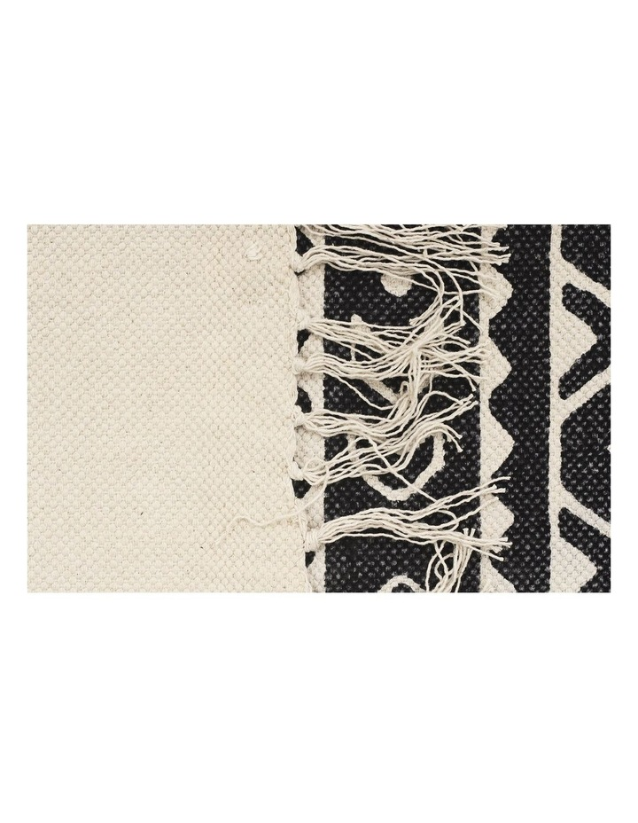 Zulu Totemic Throng Black Rug image 3