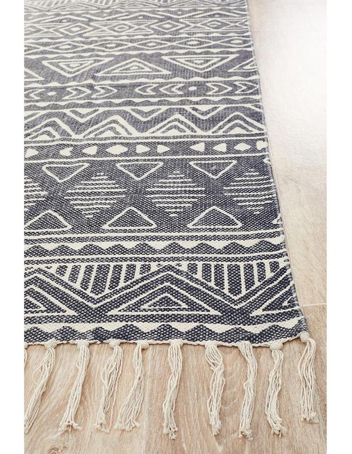 Zulu Totemic Throng Black Rug image 6