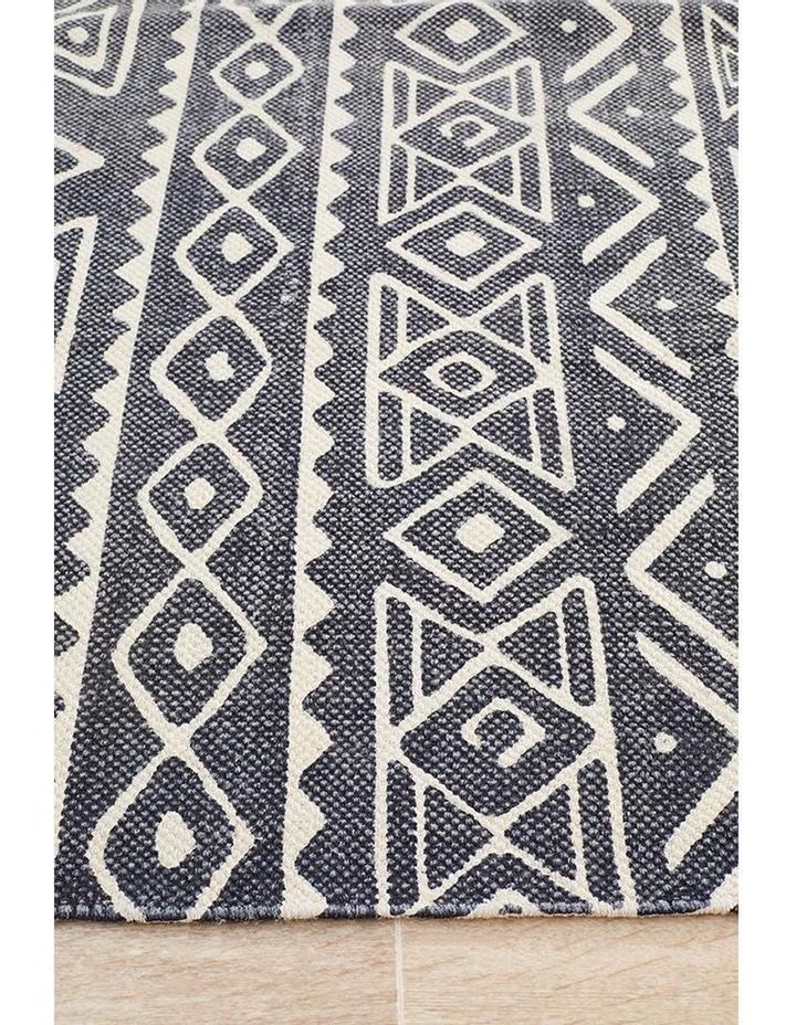 Zulu Totemic Throng Black Rug image 7