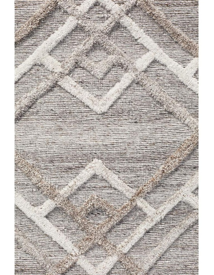 Visions Winter Silver Stream Modern Rug image 2