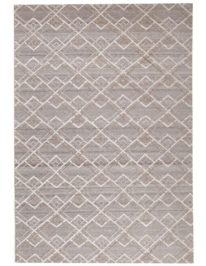 Visions Winter Silver Stream Modern Rug image 3