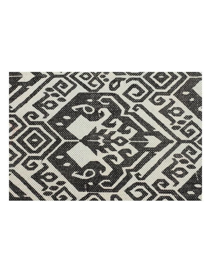 Zulu Totemic Tameless Black Rug image 2