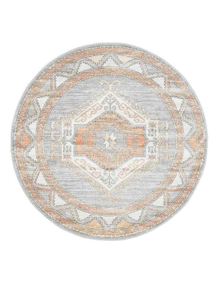Mayfair Caitlen Grey Round Rug image 1