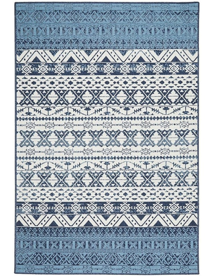 Seaside 3333 White Blue Rug image 1