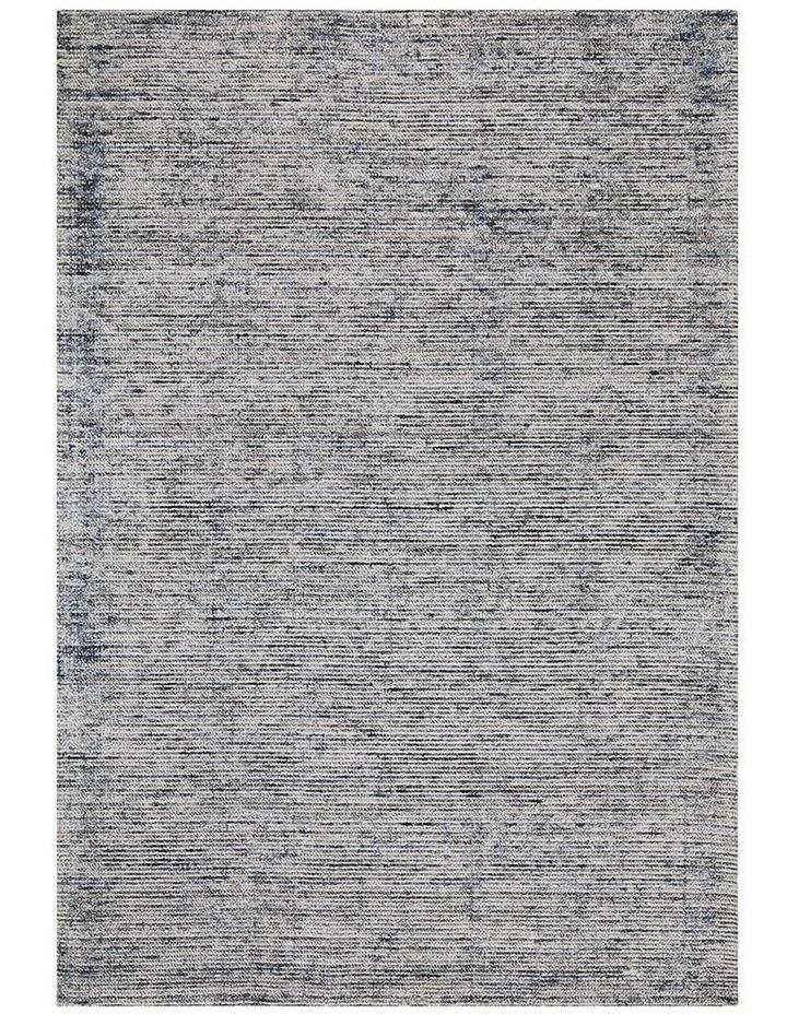 Allure Indigo Cotton Rayon Rug image 1
