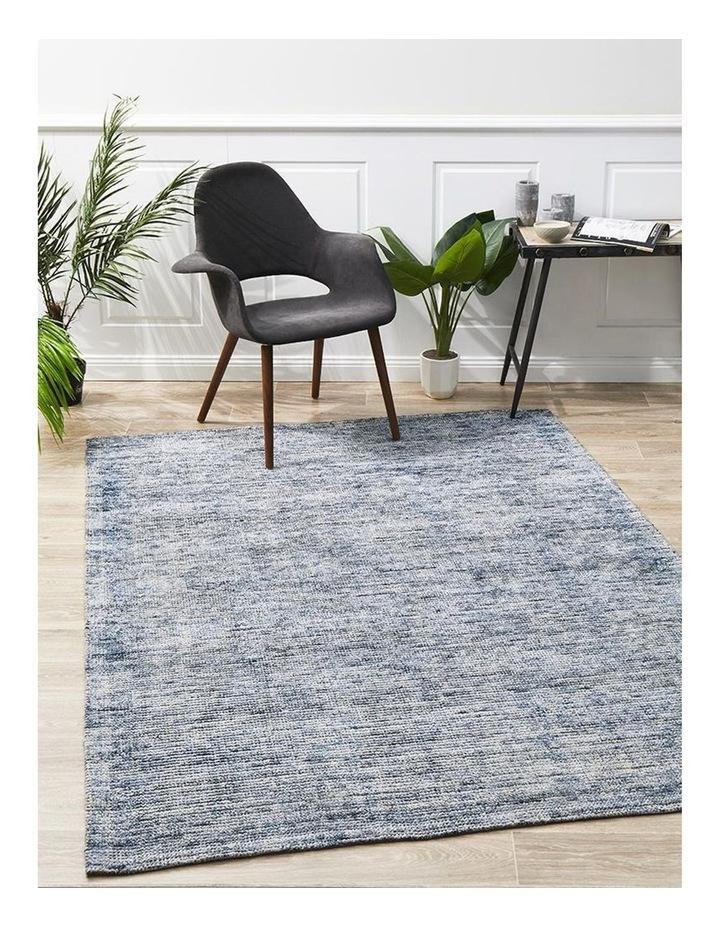 Allure Indigo Cotton Rayon Rug image 2