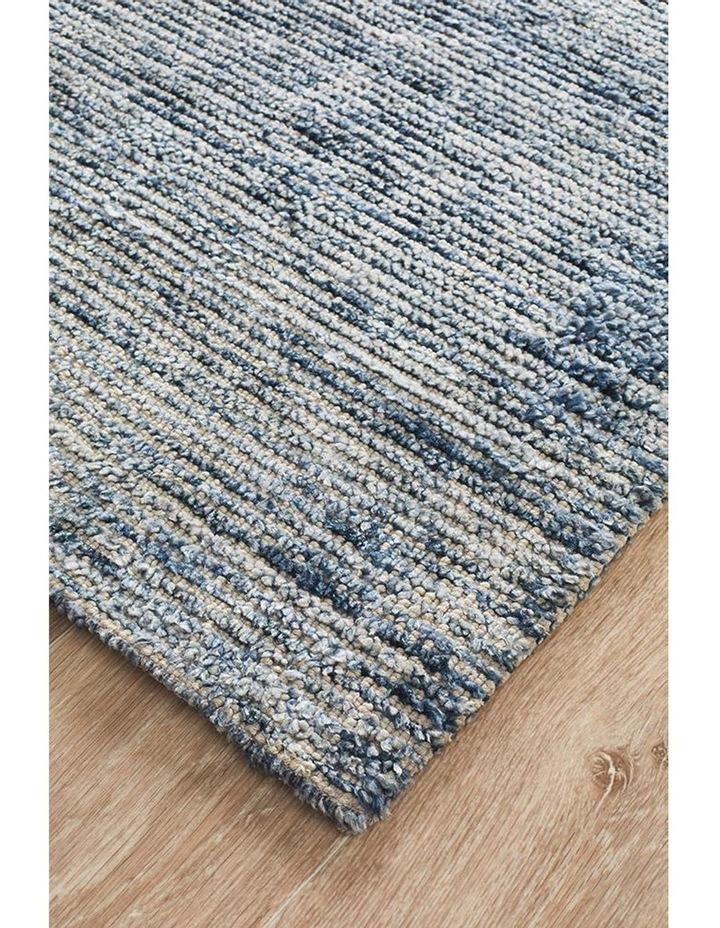 Allure Indigo Cotton Rayon Rug image 3