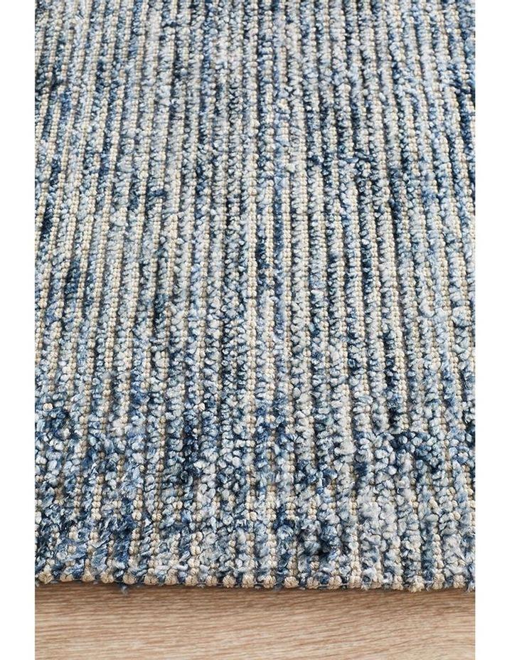 Allure Indigo Cotton Rayon Rug image 5
