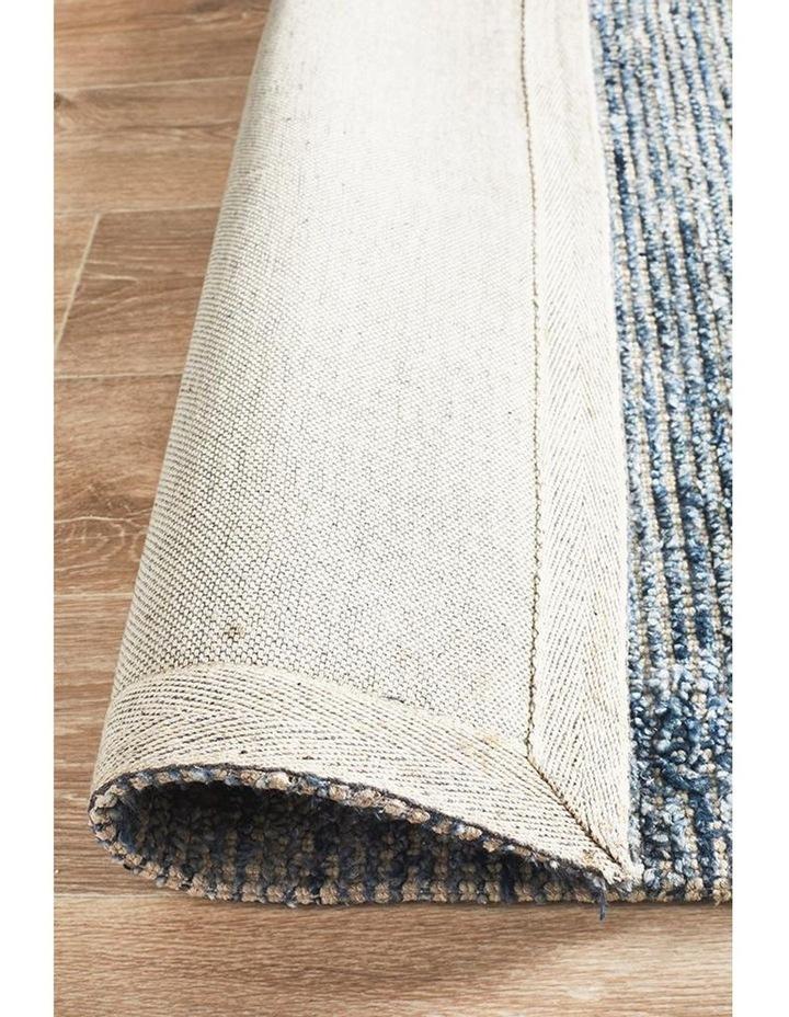 Allure Indigo Cotton Rayon Rug image 7