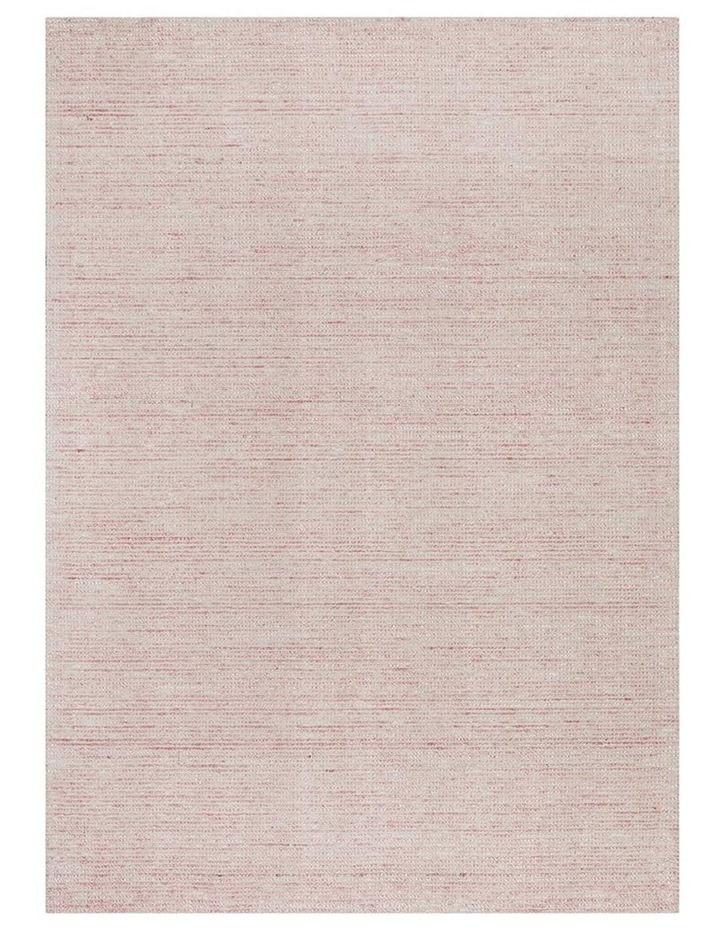 Allure Rose Cotton Rayon Rug image 1