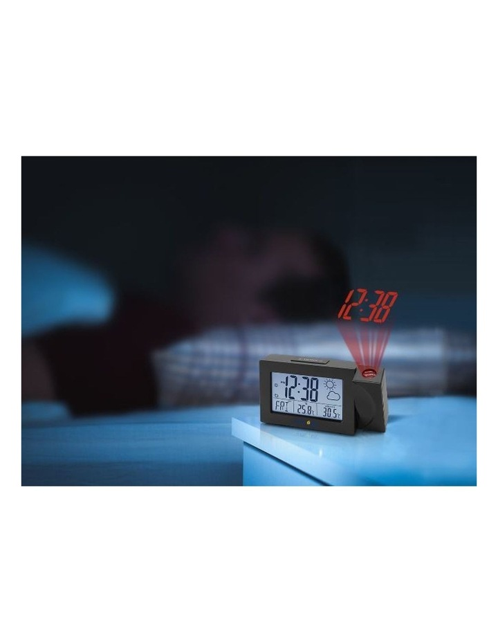 RPW3008 Weather Projection Clock - Black image 3