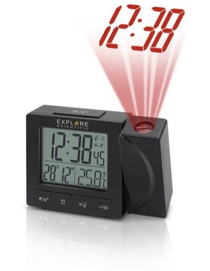 RDP1001 Projection Clock - Black image 1